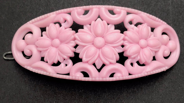 Big Joyful 1960s Flower Hair Clips -Choose from 6 Colours