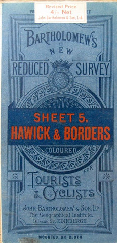 1921 Map of Hawick and Borders