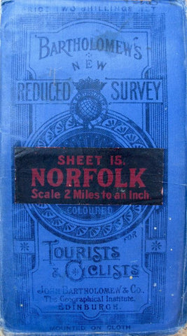 Early 1900s Map of Norfolk