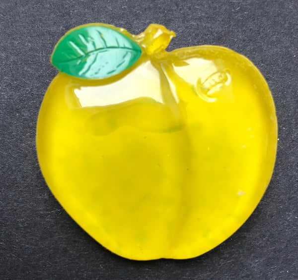 Gloriously Glowing Vintage Fruit Brooches