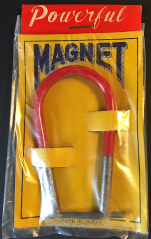 VERY USEFUL Vintage 7CM POWERFUL MAGNET Made in JAPAN