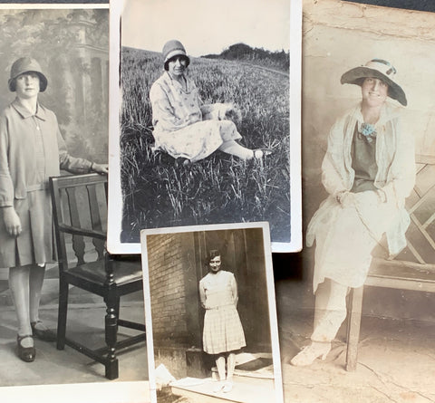 4 photos of 1920s Young Women (9)