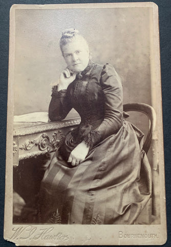 "1892 Victorian Cabinet Photo of ""Mother"""