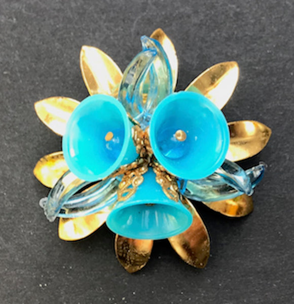 Glorious Vintage Flower Brooches
