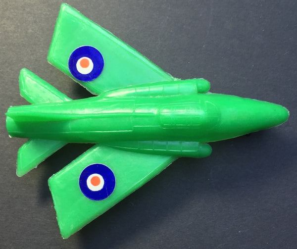 Vintage 1960s Toy Planes Mirage Hawker Siddeley Sonic + Delta Wing Jet