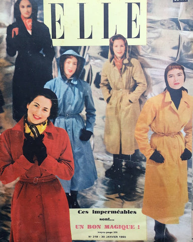 30th January 1950 issue of ELLE French Fashion Magazine
