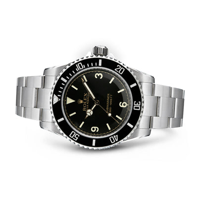 The Tempus Machina 809H Pointed Crown Guard Rolex Submariner