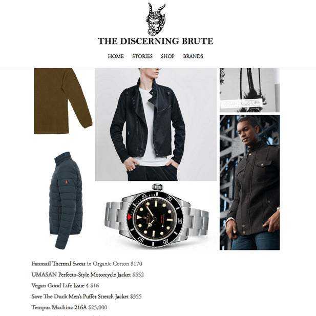 The Discerning Brute - 2016 Holiday Gift Guide for Men with Principles