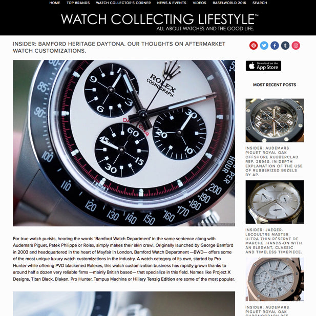 Watch Collection Lifestyle