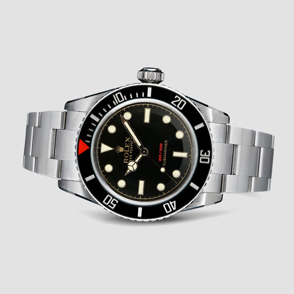 Tempus Machina 216A Red Depth Custom Rolex Submariner