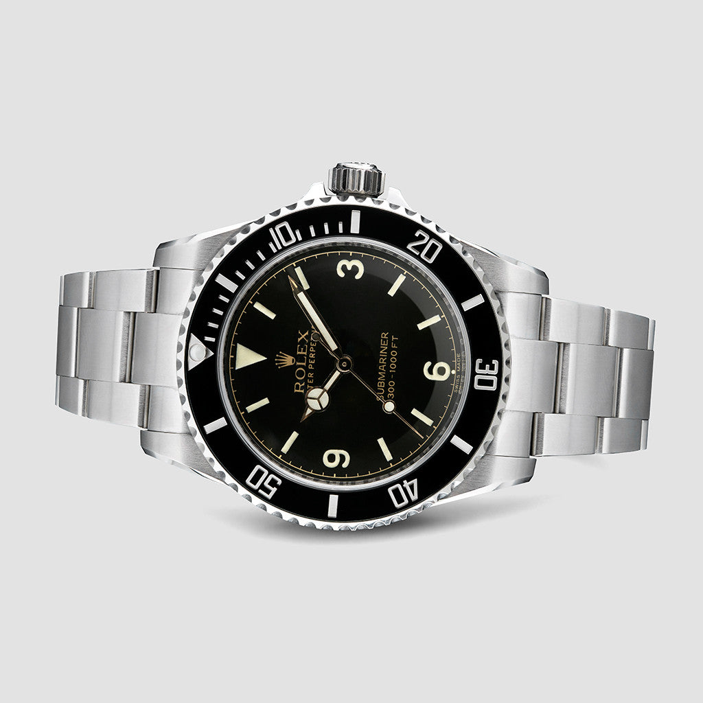 Tempus Machina 809H Pointed Crown Guard Custom Rolex Submariner