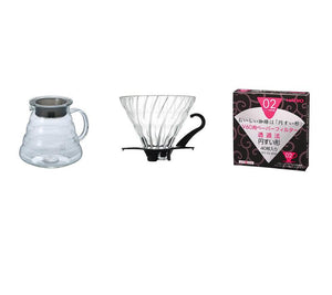 Hario V60 Kit i glass - Jacobsen & Svart Kaffebrenneri