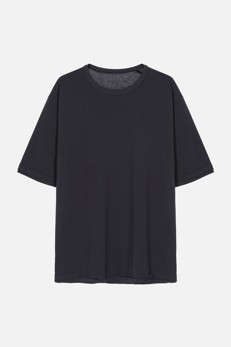 MOVE T-Shirt in Bio-Baumwolle schwarz Passform relaxed Freisteller