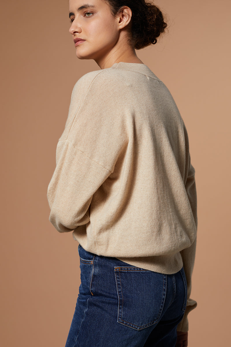 PEARL | Langarmpullover aus Recycled Cashmere x Merino