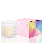 Candle Aura Quartz - Rose , Sweet Citrus + Orange Blossom (Limited Edition)