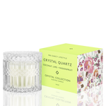 Candle Crystal Quartz -  Coconut, Lime + Passionfruit