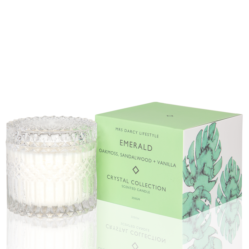 Candle Emerald - Oakmoss, Sandalwood + Vanilla