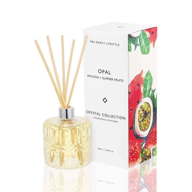 Diffuser Opal - Pavlova + Summer Fruits