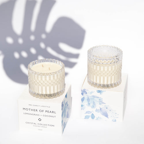 Candle Mother Of Pearl - Lemongrass + Coconut