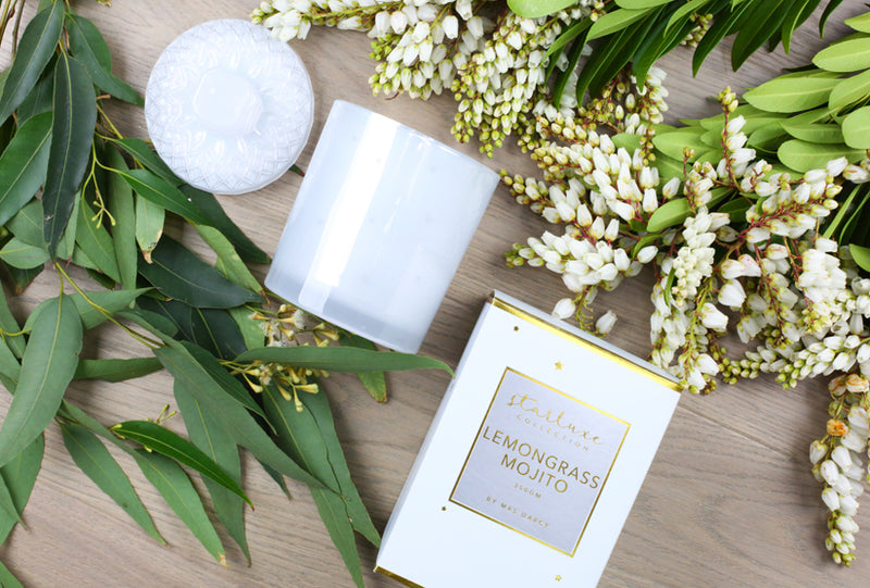 Starluxe Candle - Lemongrass Mojito