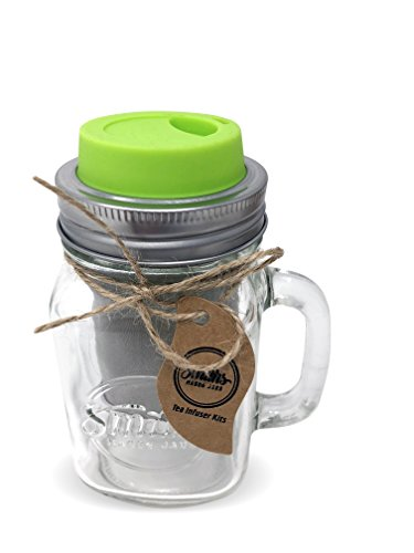 Cold Brew Coffee Maker and Tea Infuser with Mug and Drinking Lid