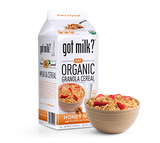 Organic Honey Nut Granola Cereal with Almonds