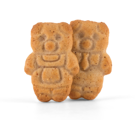 Cinnamon Teddy Cookies