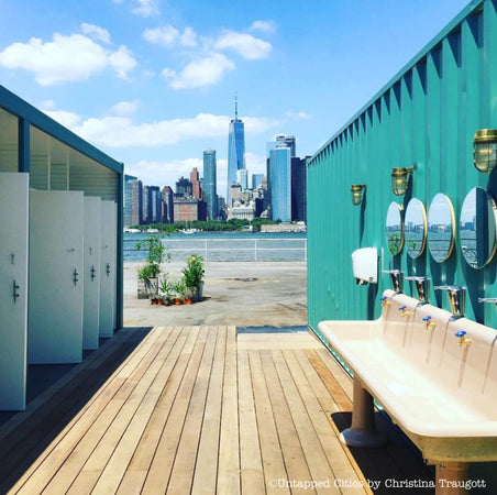 5 Cool Places to Sh*t in The City
