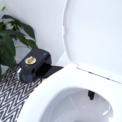 Black and gold Tushy bidet