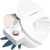 2020 Tushy Classic White / Bronze - a classic affordable bidet attachment by TUSHY
