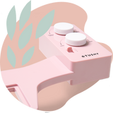 2020 Tushy Spa Pink / White - a warm water bidet attachment by TUSHY