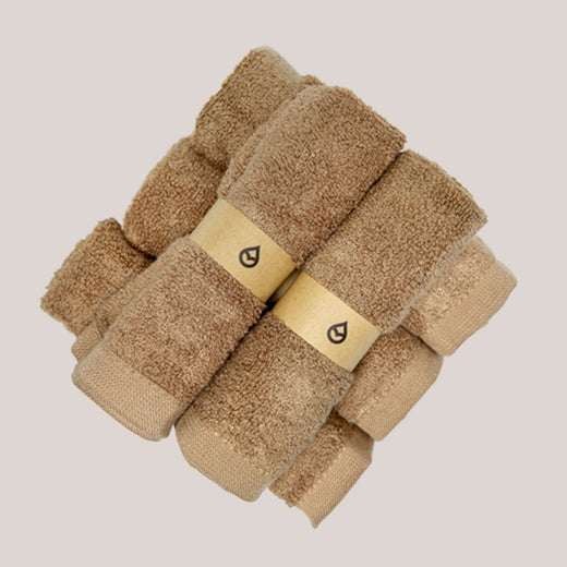Featured - Tushy Towels Natural - 100% bamboo bidet towels