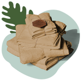 TUSHY Bamboo Towel Set Natural TUSHY bamboo bath sheet, bamboo bath towel, bamboo hand towel, and bamboo washcloth