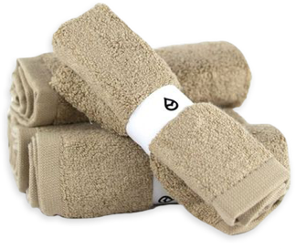 Product Tushy Towels Natural - 100% bamboo bidet towels