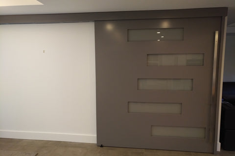 7' x 8' Acoustic Concealed Sliding Door
