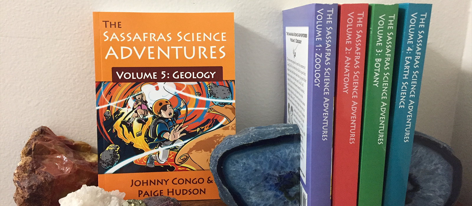 The Sassafras Science Adventures Novels