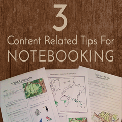 3 Content Related Tips for Notebooking