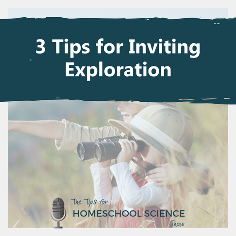 Invite exploration to flow naturally into the empty spaces of the child's day with these three tips from Elemental Science.