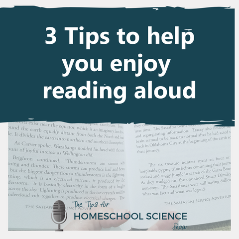 Get three tips to help make your read-aloud times in your homeschool soothing instead of stressful.