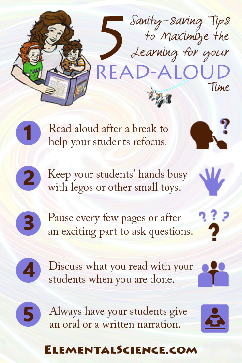 5 Sanity-saving tips to maximize the learning for your read-aloud time
