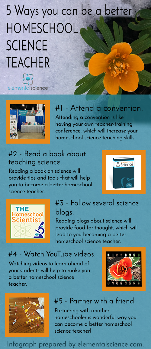 Once you have the right curriculum in place, you can use any one of these ideas to become a better homeschool science teacher! {Elemental Science}