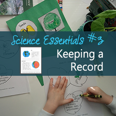 Notebooking, worksheets, or outlines are just some of the options for writing in science. Get tips are more at elementalscience.com to learn more!