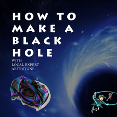 Grab a cup and a few Sharpies to make an artistic version of a black hole in this STEAM activity.