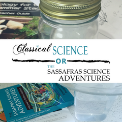 Should you use the Classical Science series or the Sassafras Science series from Elemental Science next year?