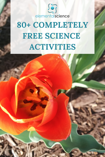 80+ Free science activities to entertain your kiddos when you are stuck at home