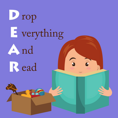 DEAR Day – Stop, Drop, And Read with the Sassafras Twins