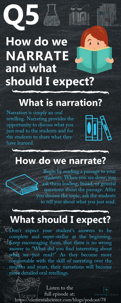 Learn how to narrate for science and what to expect from your students | Elemental Science