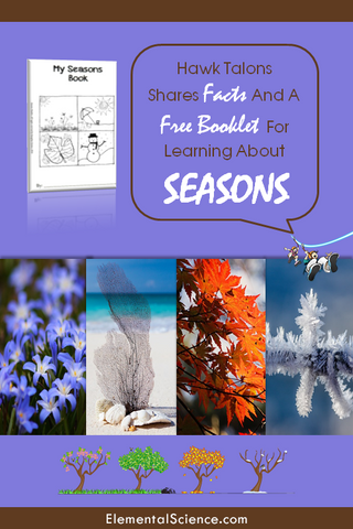 Learn about the seasons the Sassy-Sci way. (Includes a FREE Seasons Booklet printable!)