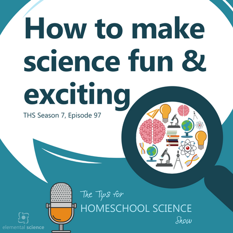 Do you struggle with the idea that science is boring? It doesn't have to be! In this podcast, we'll be chatting about three ways you can make science fun.