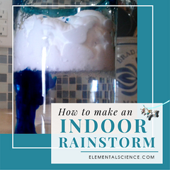 How to make an indoor rainstorm